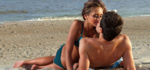 making love on the beach